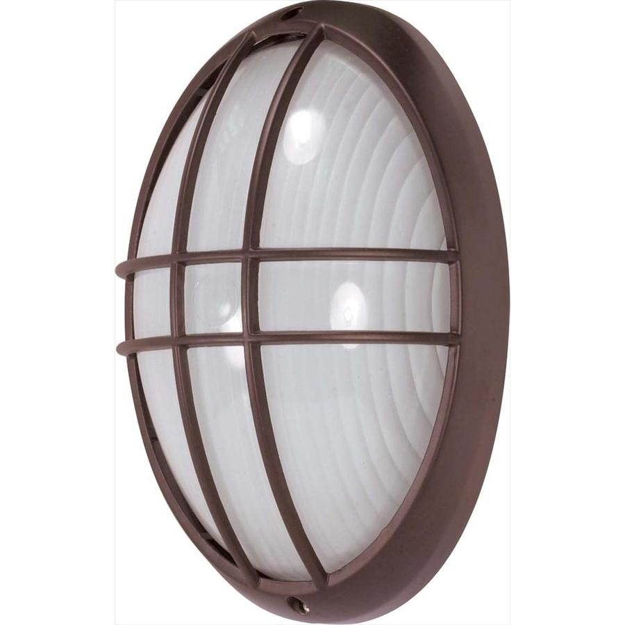 21.44-in H Architectural Bronze Outdoor Wall Light