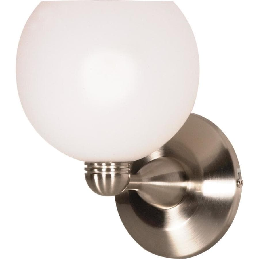 Castillo 13.18-in W 1-Light Brushed Nickel Arm Wall Sconce