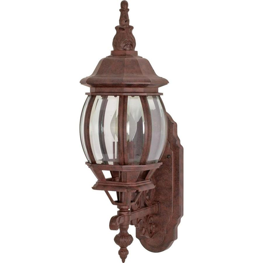 16.91-in H Old Bronze Outdoor Wall Light