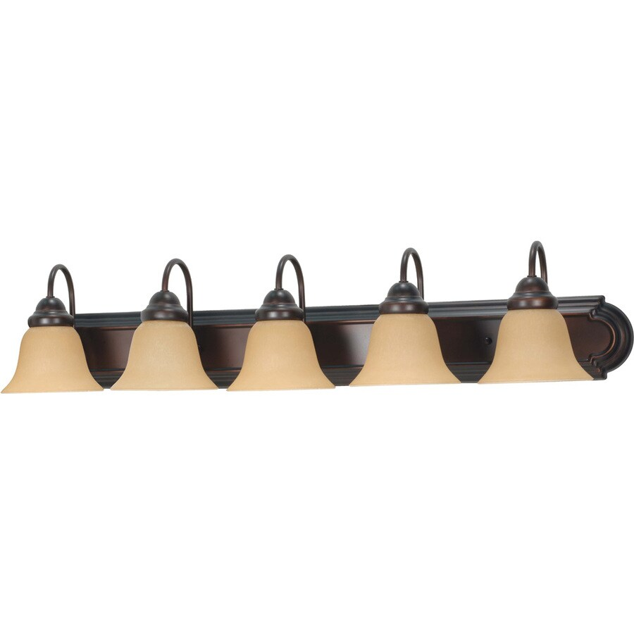 Ballerina 5-Light Mahogany Bronze Vanity Light