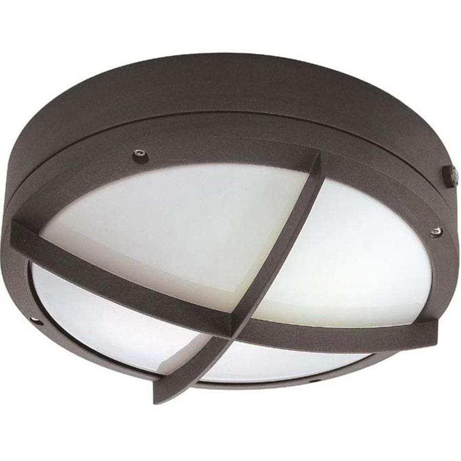 16.17-in H Architectural Bronze Outdoor Wall Light