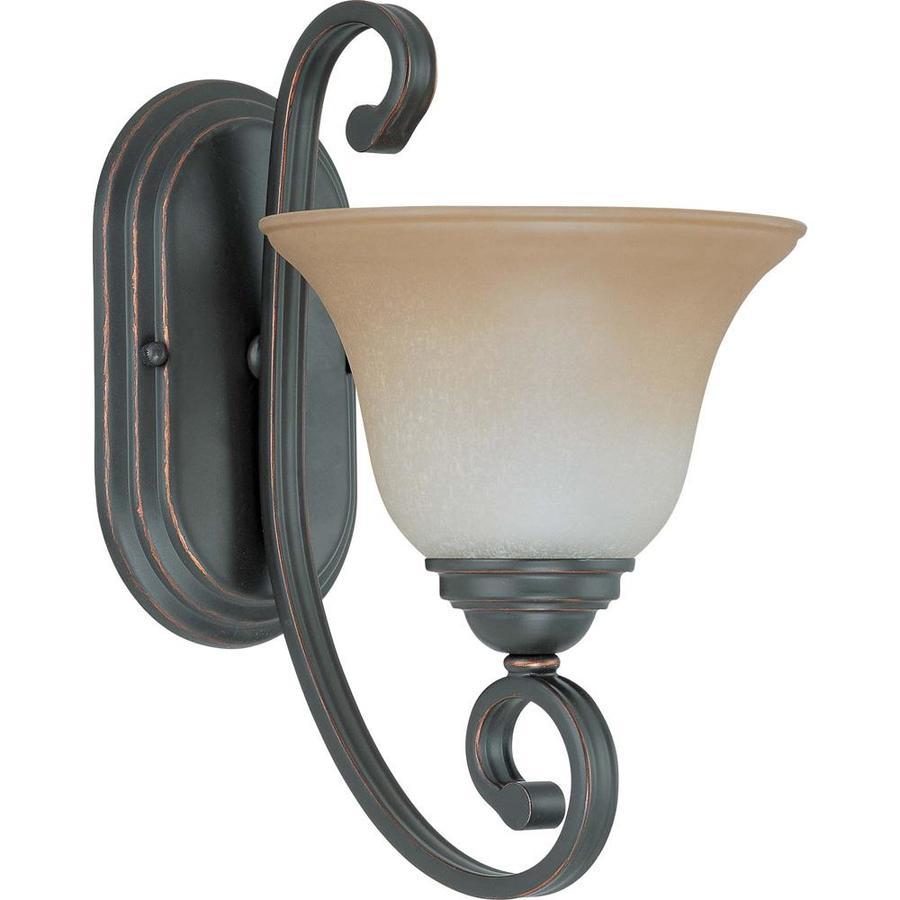 Montgomery 1-Light Sudbury Bronze Vanity Light