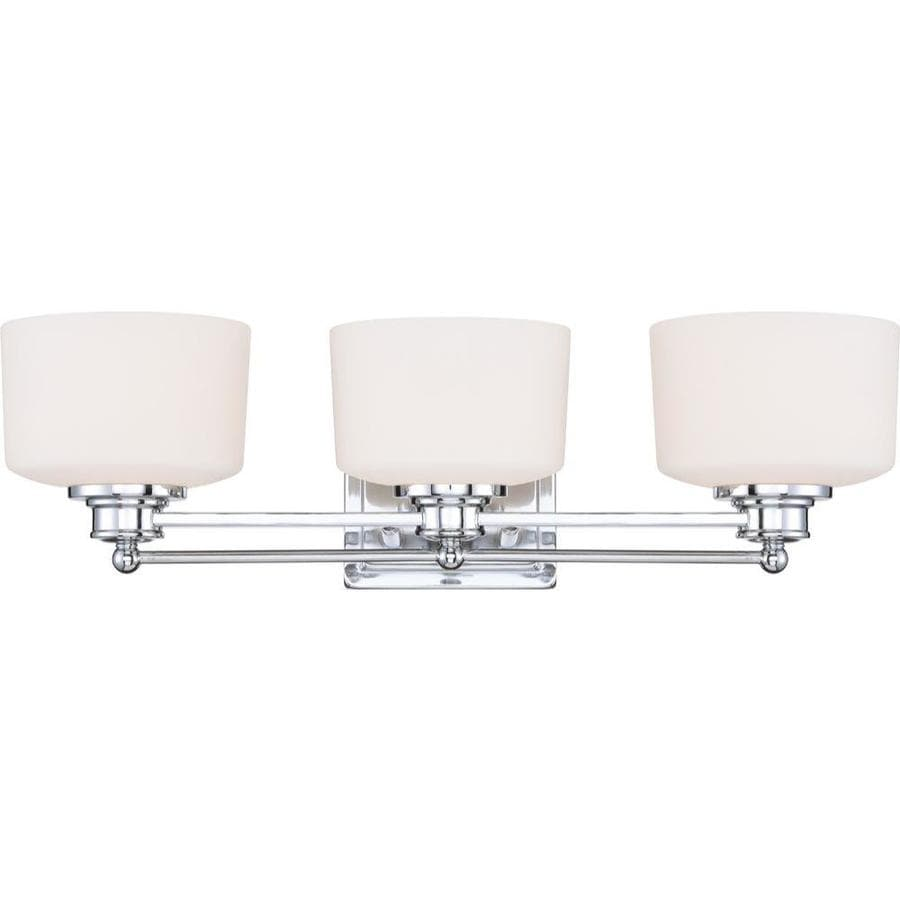 Three Light Bathroom Vanity Light: Shop 3-Light Soho Polished Chrome Bathroom Vanity Light At Lowes.com