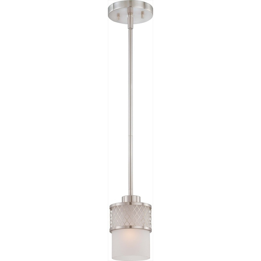 Fusion 6-in Brushed Nickel Mini N/A Pendant