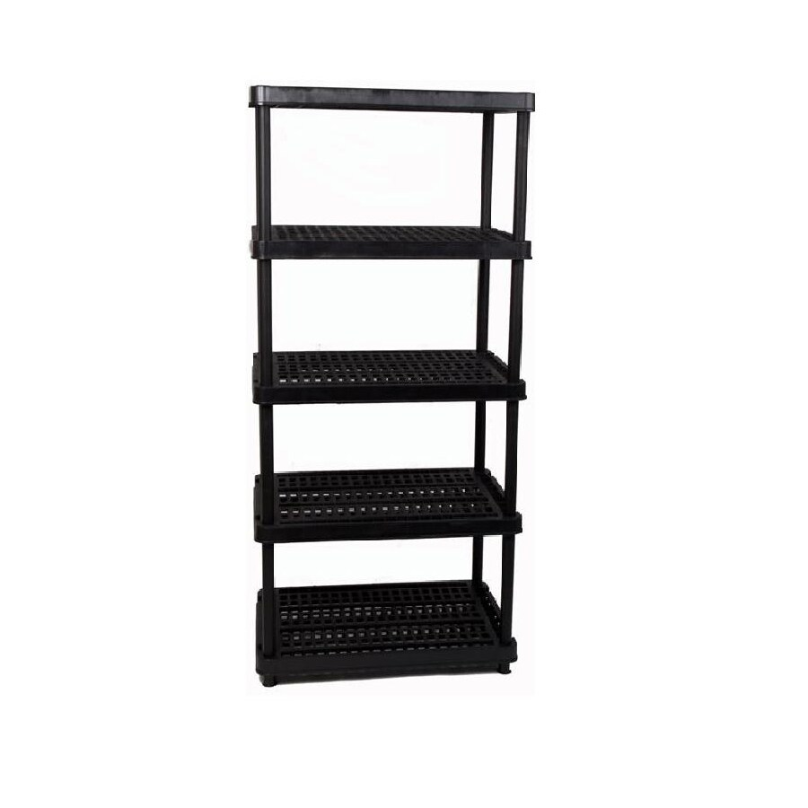 enviro elements 72-in H x 36-in W x 18-in D Plastic Freestanding Shelving Unit