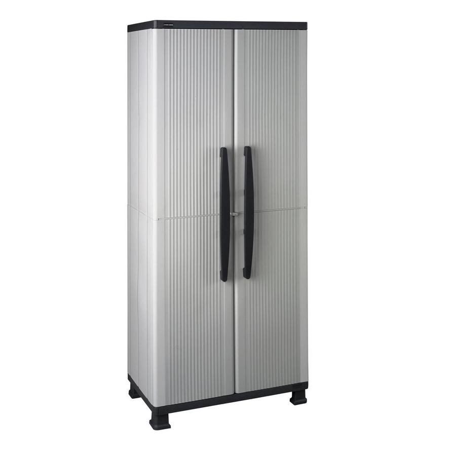 enviro elements 68-in H x 26.75-in W x 14.75-in D Resin Multipurpose Cabinet
