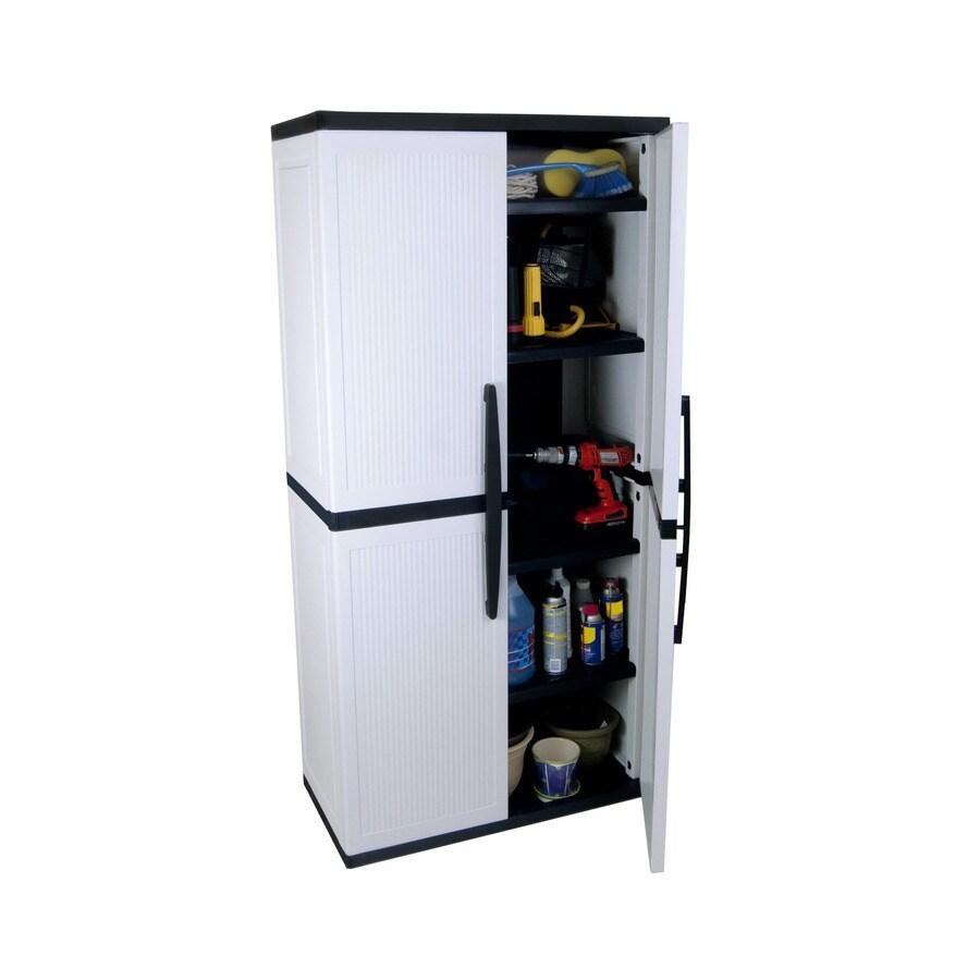 enviro elements 70.75-in H x 34.5-in W x 17.5-in D Resin Multipurpose Cabinet