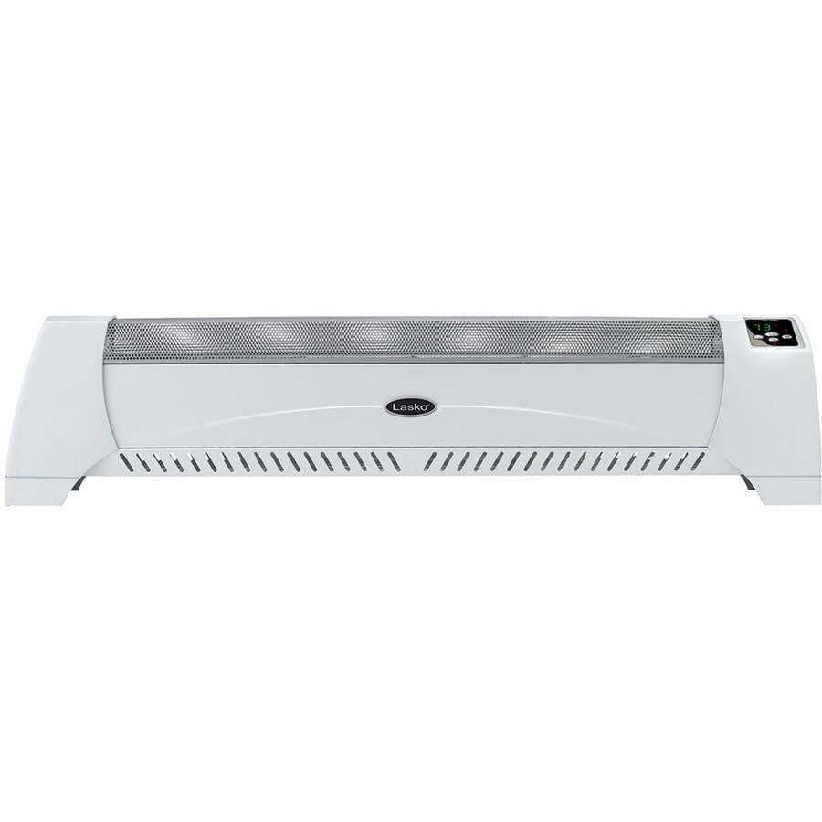 Lasko 5,118-BTU Convection Baseboard Electric Space Heater with Thermostat