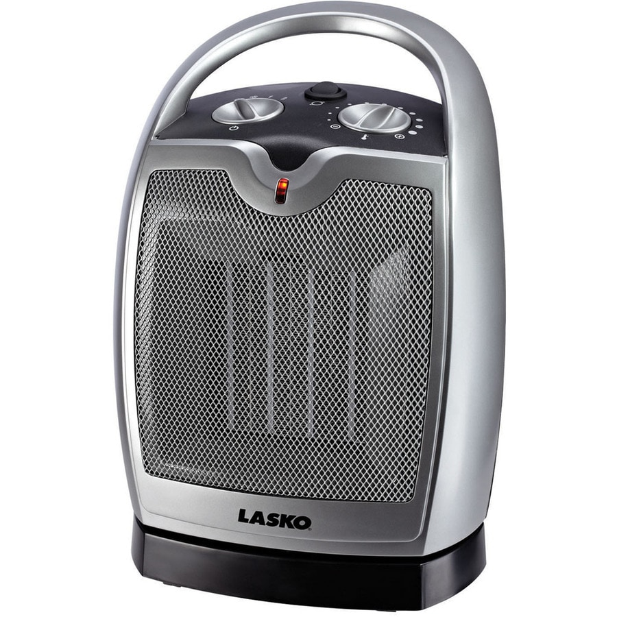 Lasko 5,118-BTU Ceramic Compact Personal Electric Space Heater with Thermostat