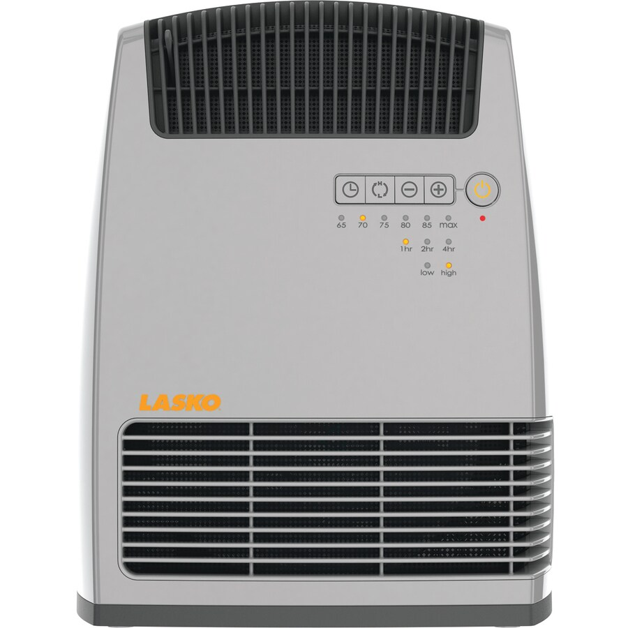 Lasko 5,118-BTU Heater Fan Tower Electric Space Heater with Thermostat