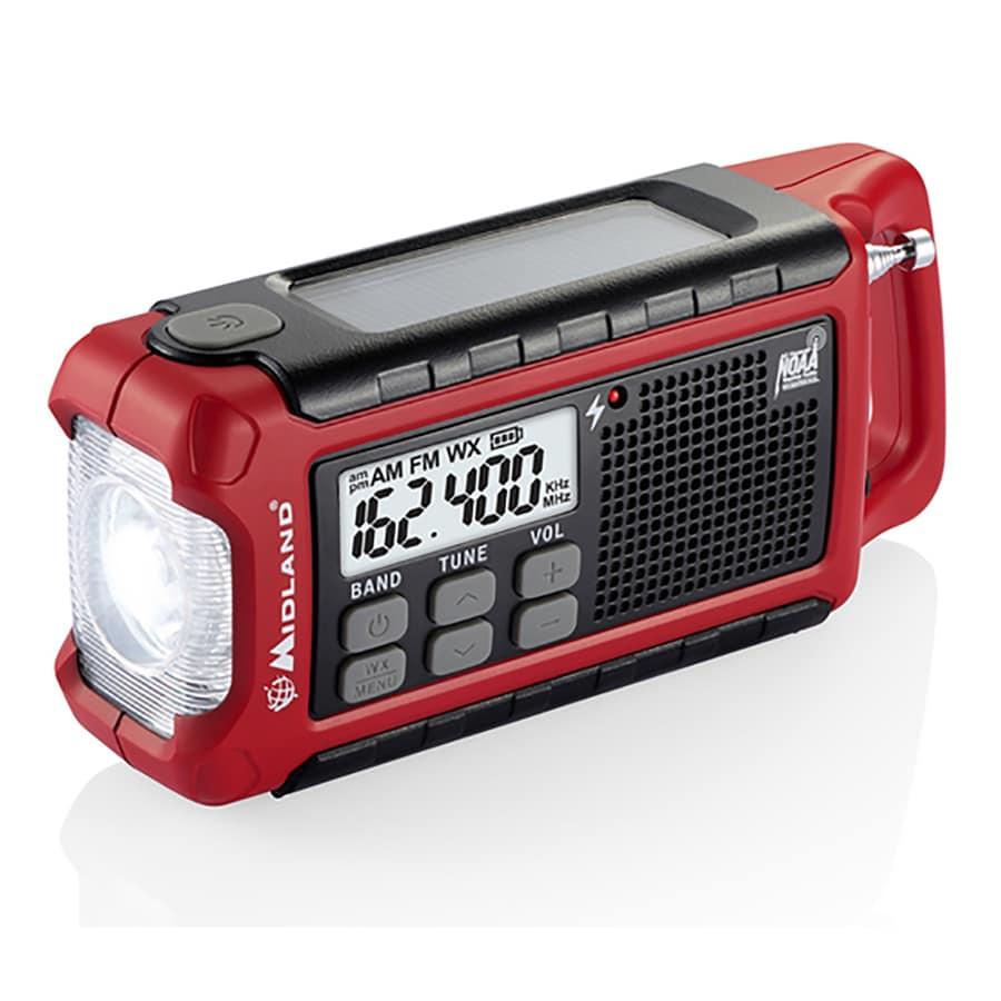 Midland ER210 Emergency Crank Weather Radio
