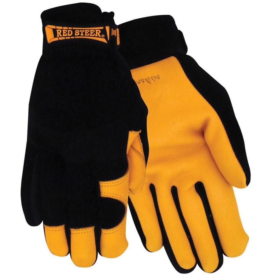 Red Steer Glove Company Large Men's Work Gloves
