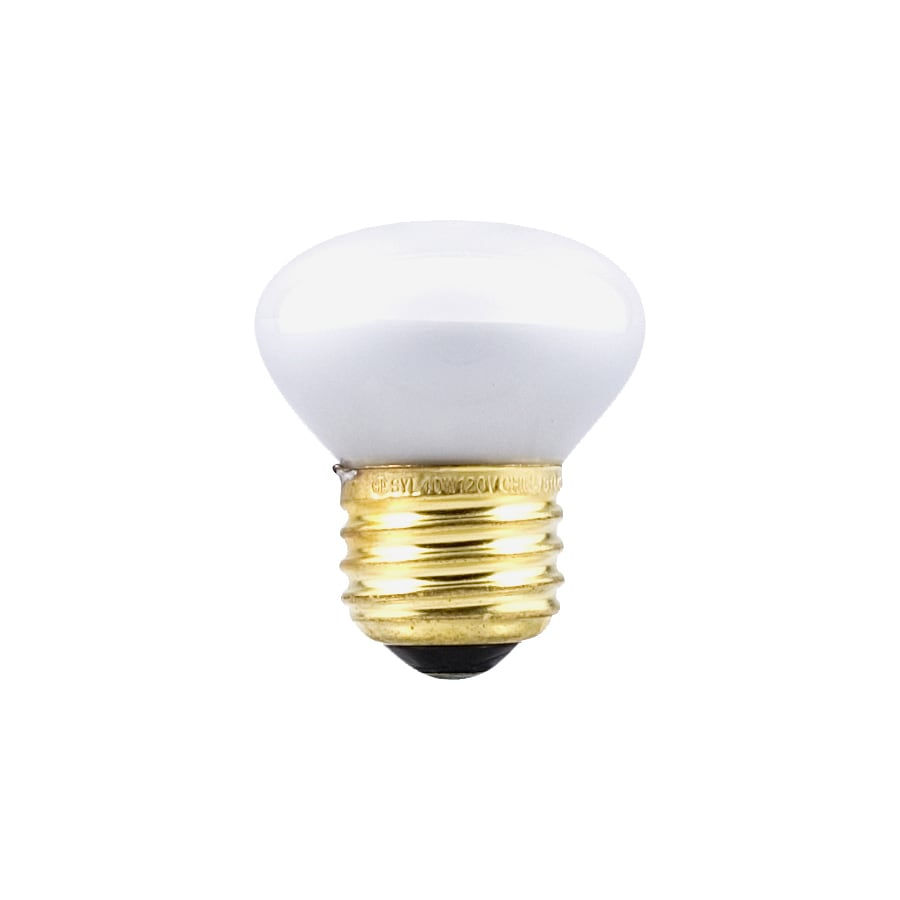 SYLVANIA 25-Watt R14 Medium Base (E-26) Soft White Dimmable Incandescent Flood Light Bulb