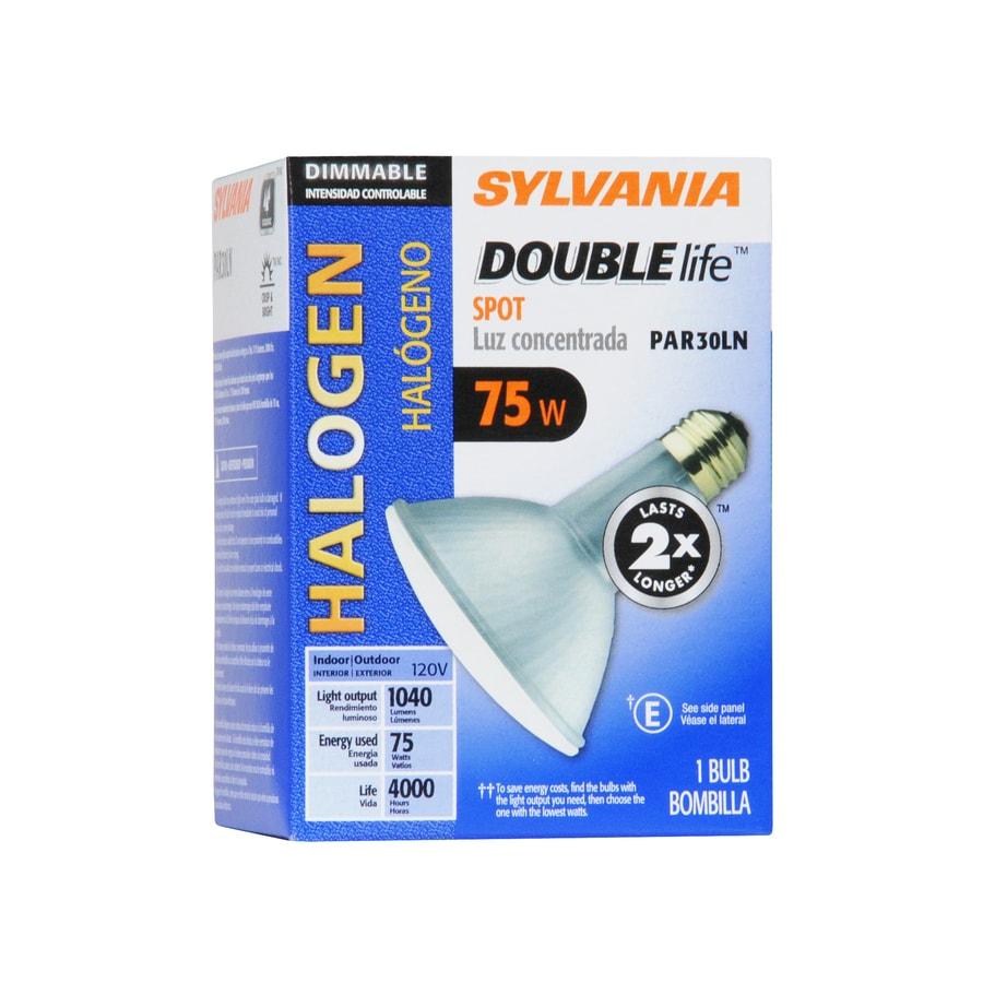 SYLVANIA 75-Watt PAR30 Longneck Medium Base (E-26) Warm White Dimmable Outdoor Halogen Spotlight Bulb
