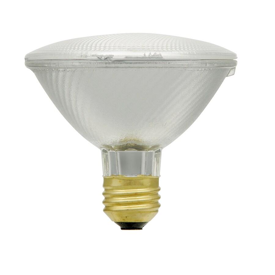 Utilitech 2-Pack 75-Watt PAR30 Shortneck Medium Base Warm White Dimmable Outdoor Halogen Flood Light Bulbs
