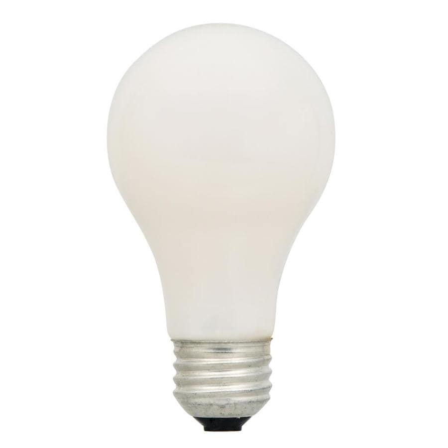 SYLVANIA 4-Pack 29-Watt (40W Equivalent) A19 Medium Base (E-26) Soft White Dimmable for Indoor Halogen Light Bulbs