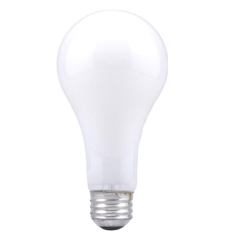 SYLVANIA 12-Pack 100-Watt A21 Soft White 3-Way Incandescent Light Bulbs