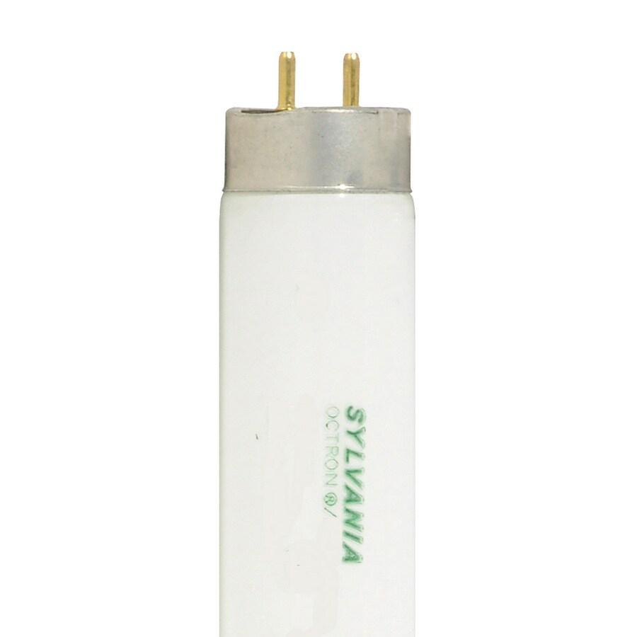 SYLVANIA 12-Pack 32-Watt T8 4-ft Bright White (3500K) Fluorescent Light Bulbs