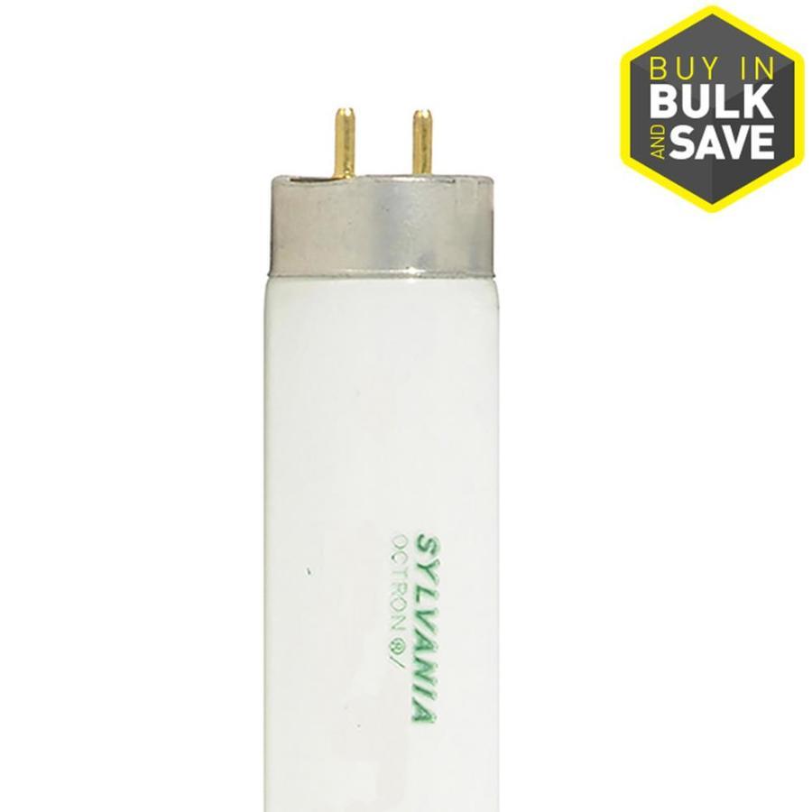 SYLVANIA 12-Pack 32-Watt 6,500K Daylight Dimmable Fluorescent Tube Light Bulbs (Common: 48-in; Actual: 47.78-in)