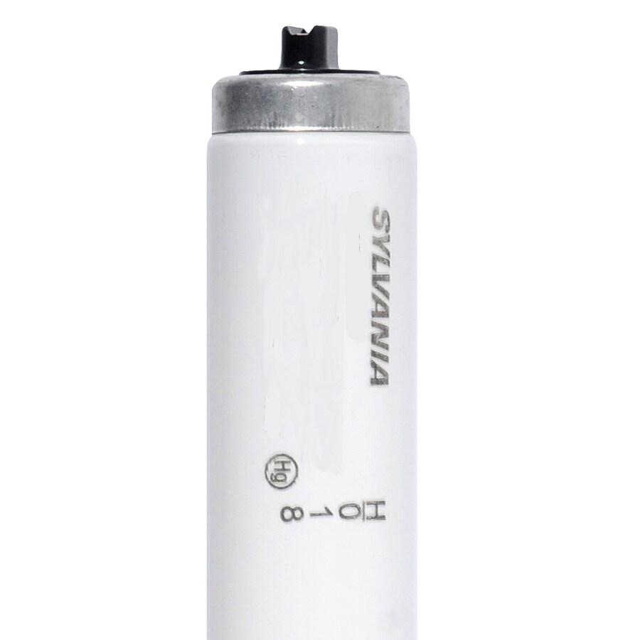 SYLVANIA 30-Pack 60-Watt 4,100K Cool White Fluorescent Tube Light Bulbs (Common: 48-in; Actual: 45.91-in)