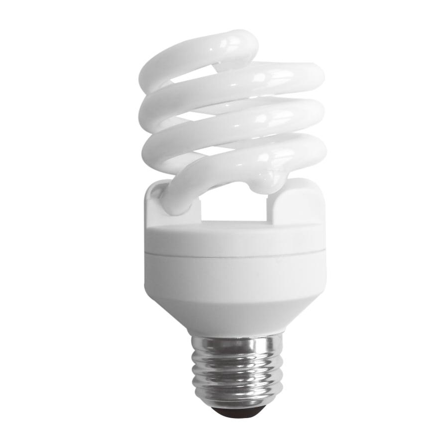 SYLVANIA 6-Pack 20-Watt (75W Equivalent) 2700K Spiral Medium Base (E-26) Soft White Outdoor CFL Bulbs ENERGY STAR