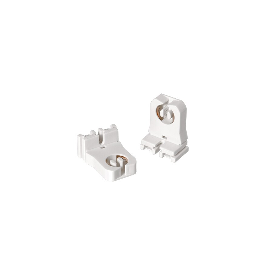 OSRAM 2-Pack White Lamp Holders