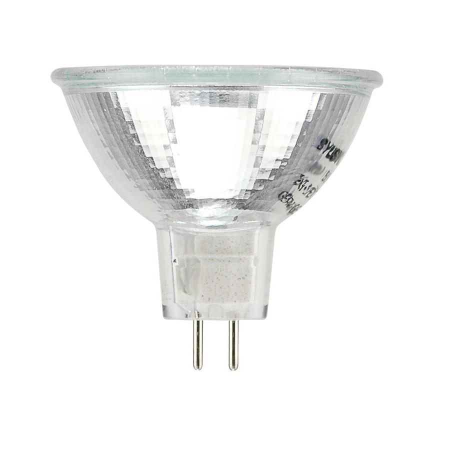 SYLVANIA 50-Watt MR16 GU5.3 Base Warm White Dimmable Halogen Spotlight Bulb