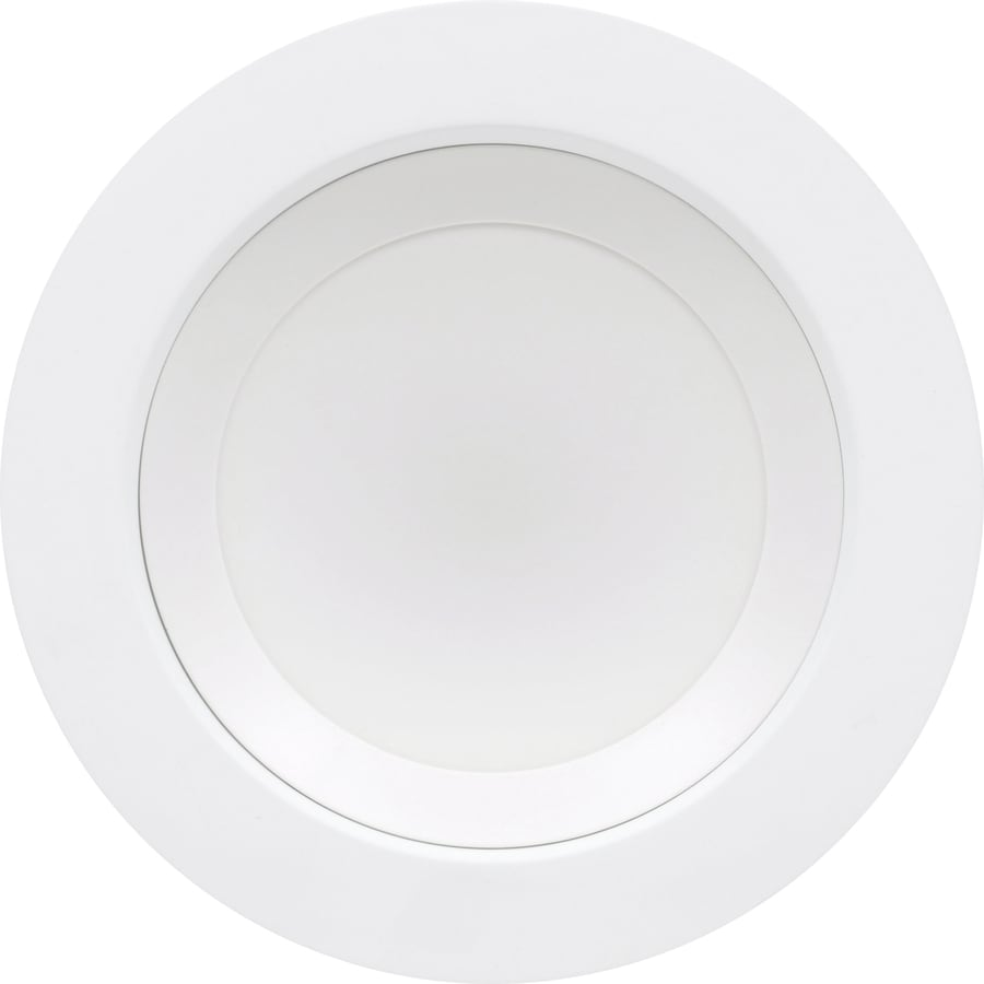 SYLVANIA Ultra 65-Watt Equivalent White Trim LED Recessed Retrofit Downlight (Fits Housing Diameter: 6-in)
