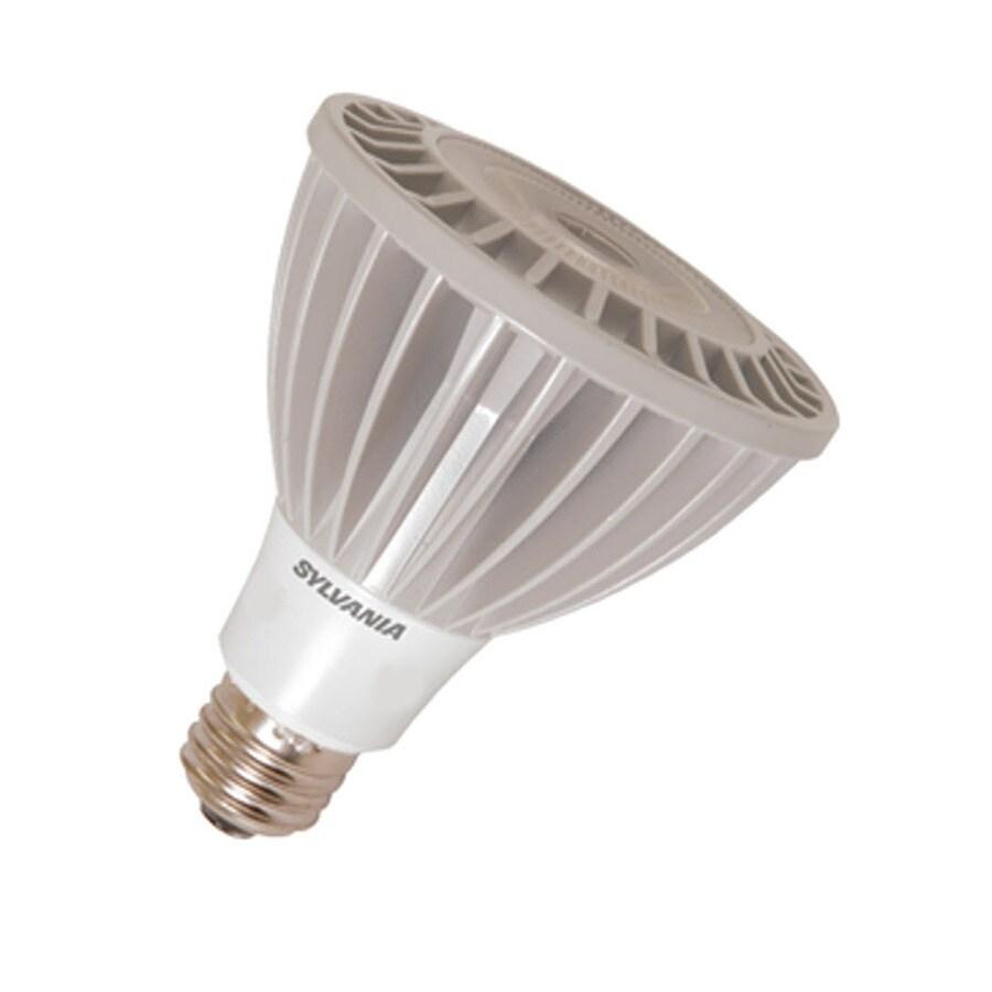 SYLVANIA 16-Watt (75W Equivalent) PAR30 Longneck Medium Base (E-26) Soft White Dimmable Indoor LED Flood Light Bulb