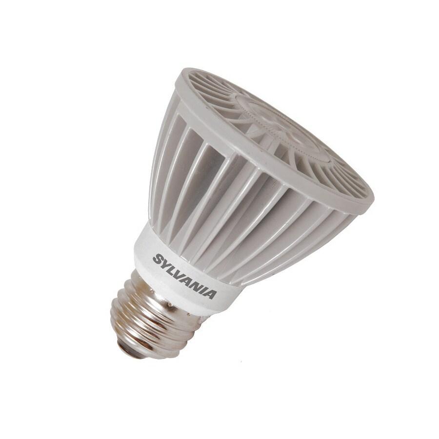 SYLVANIA 8-Watt (50W Equivalent) PAR16 Medium Base (E-26) Soft White Dimmable Indoor LED Flood Light Bulb