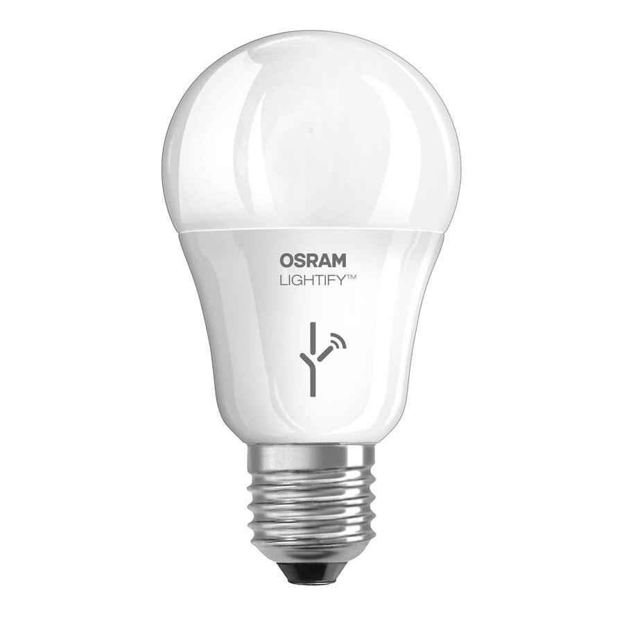 SYLVANIA Lightify 9.5-Watt (60W Equivalent) 2,700K A19 Dimmable Soft White LED Bulb with Built-In WiFi