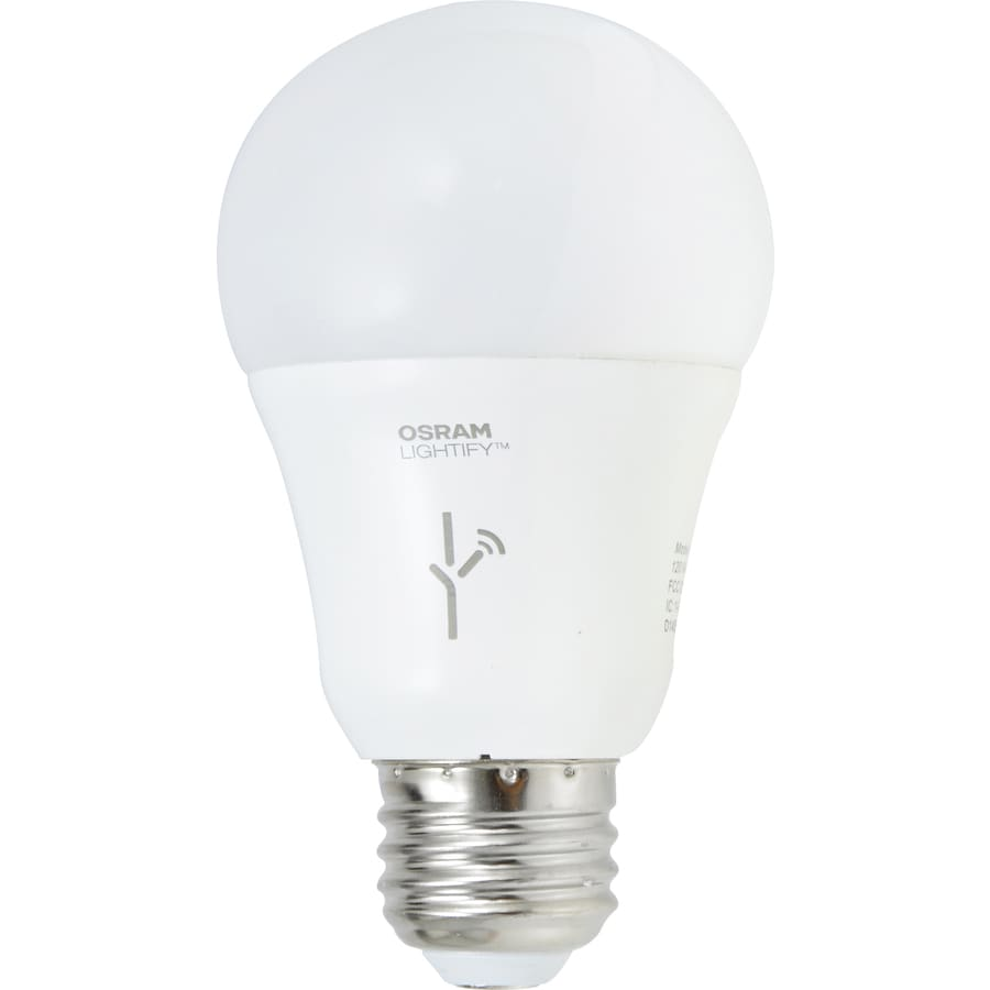 a19 medium base e 26 dimmable soft white led bulb with built in wifi. Black Bedroom Furniture Sets. Home Design Ideas