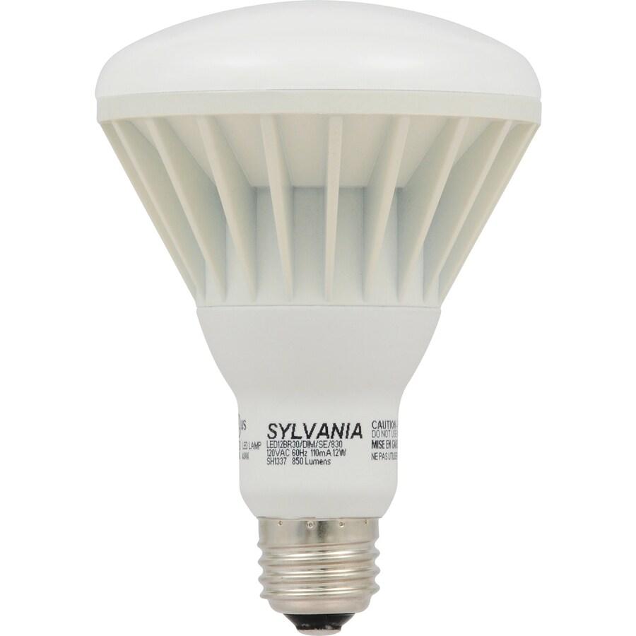 SYLVANIA ULTRA 12-Watt (65W Equivalent) 2700K BR30 Medium Base (E-26) Soft White Dimmable Indoor LED Flood Light Bulb ENERGY STAR