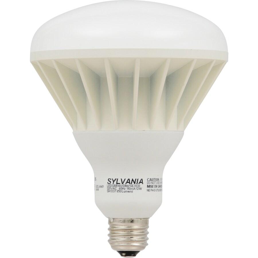 SYLVANIA ULTRA 12-Watt (65W Equivalent) 2700K BR40 Medium Base (E-26) Soft White Dimmable Indoor LED Flood Light Bulb ENERGY STAR