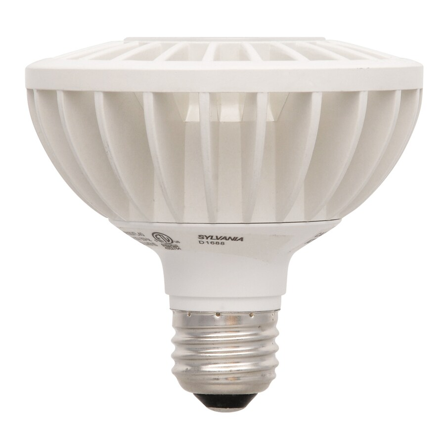 SYLVANIA 15-Watt (50W Equivalent) PAR 30 Shortneck Medium Base (E-26) Warm White Dimmable Outdoor LED Flood Light Bulb
