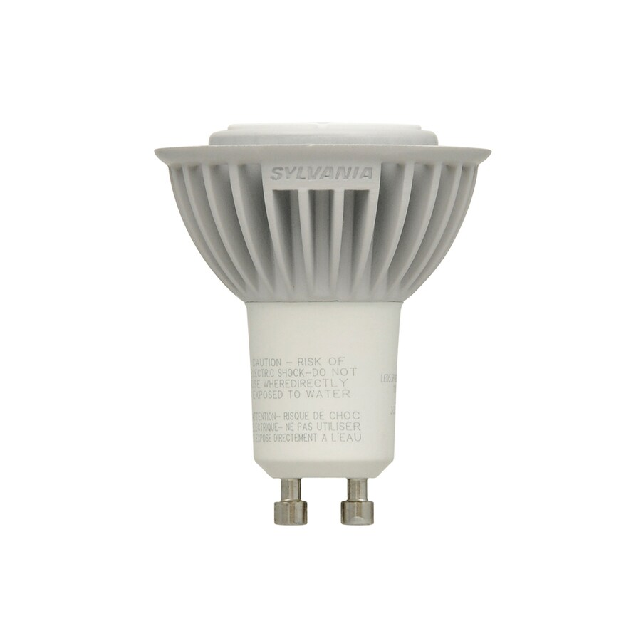 SYLVANIA 5.5-Watt (35W Equivalent) PAR16 GU10 Pin Base Warm White Dimmable Indoor LED Flood Light Bulb ENERGY STAR