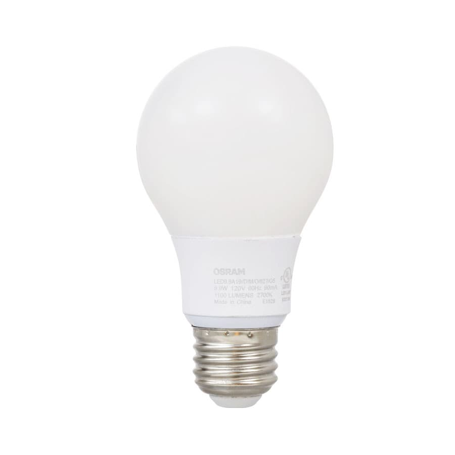 Shop Sylvania Ultra 75w Equivalent Dimmable Soft White A19 Led Light Fixture Light Bulb At