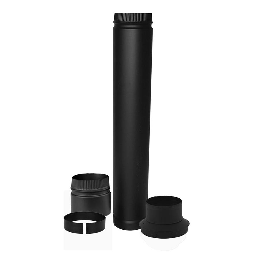 SuperVent 4-Piece Chimney Pipe Accessory Kit for Installation