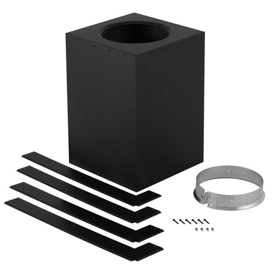 SuperVent 6-Piece Chimney Pipe Accessory Kit for Ceiling Support