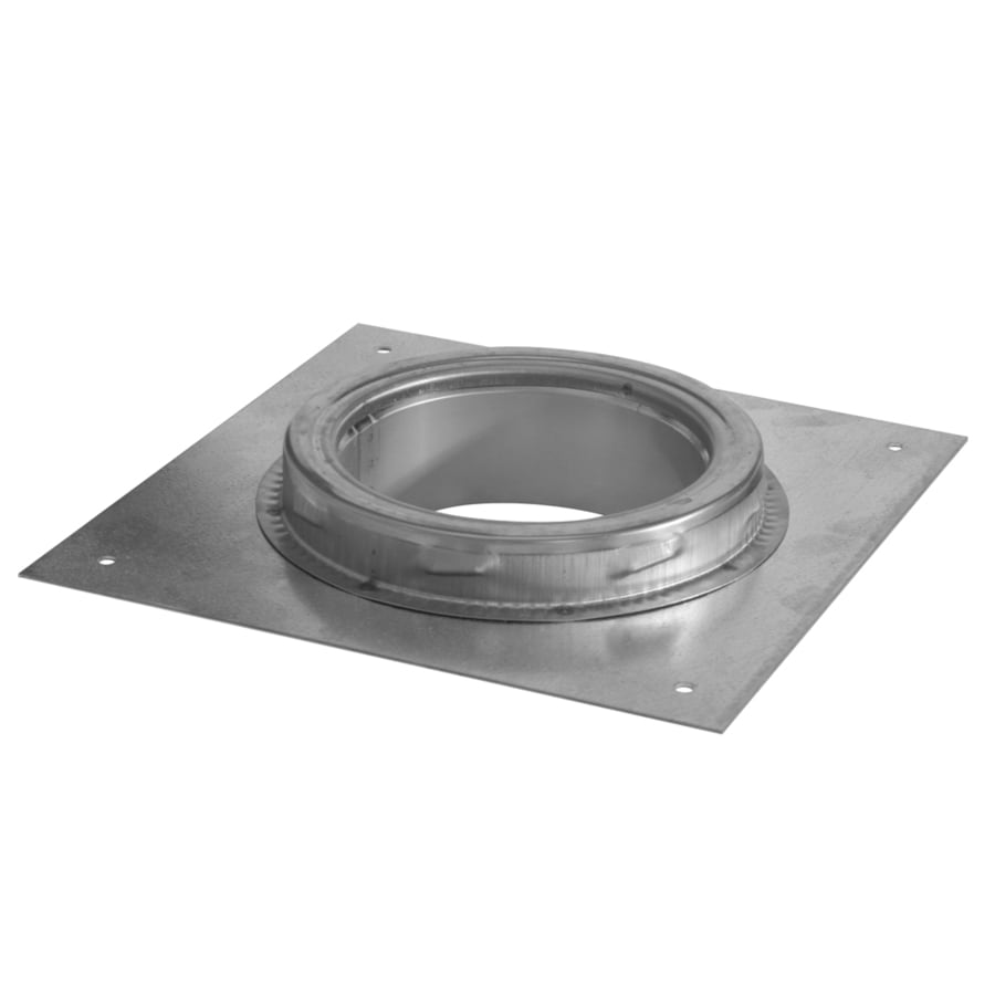 Shop Supervent 6 In Stainless Steel Stove Pipe Adapter At