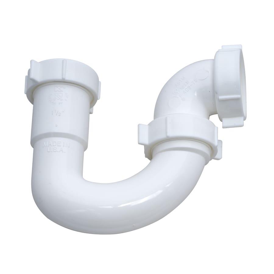 Keeney Mfg. Co. 1-1/2-in Plastic Sink Trap J-bend