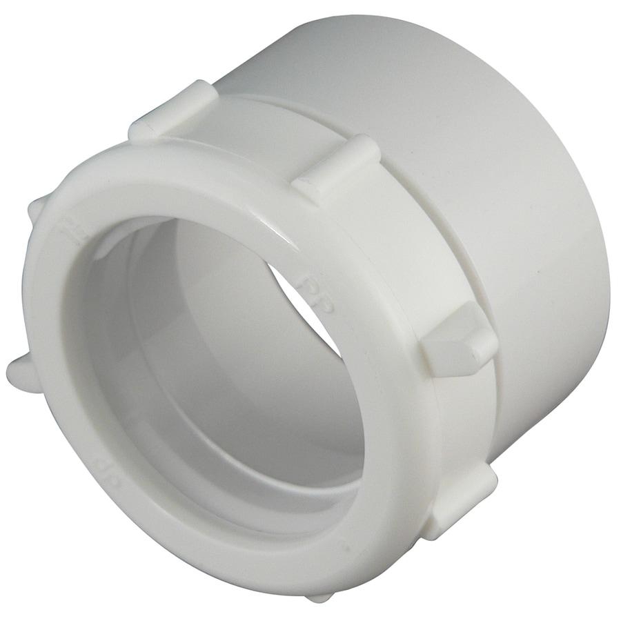 Keeney Mfg. Co. 1-1/2-in dia-Degree PVC Sewer Drain Adapter