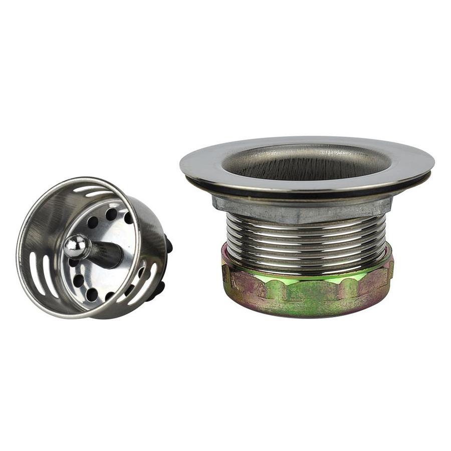Sink Stopper : ... Plumb Pak 3-in dia Stainless Steel Stopper Sink Strainer at Lowes.com