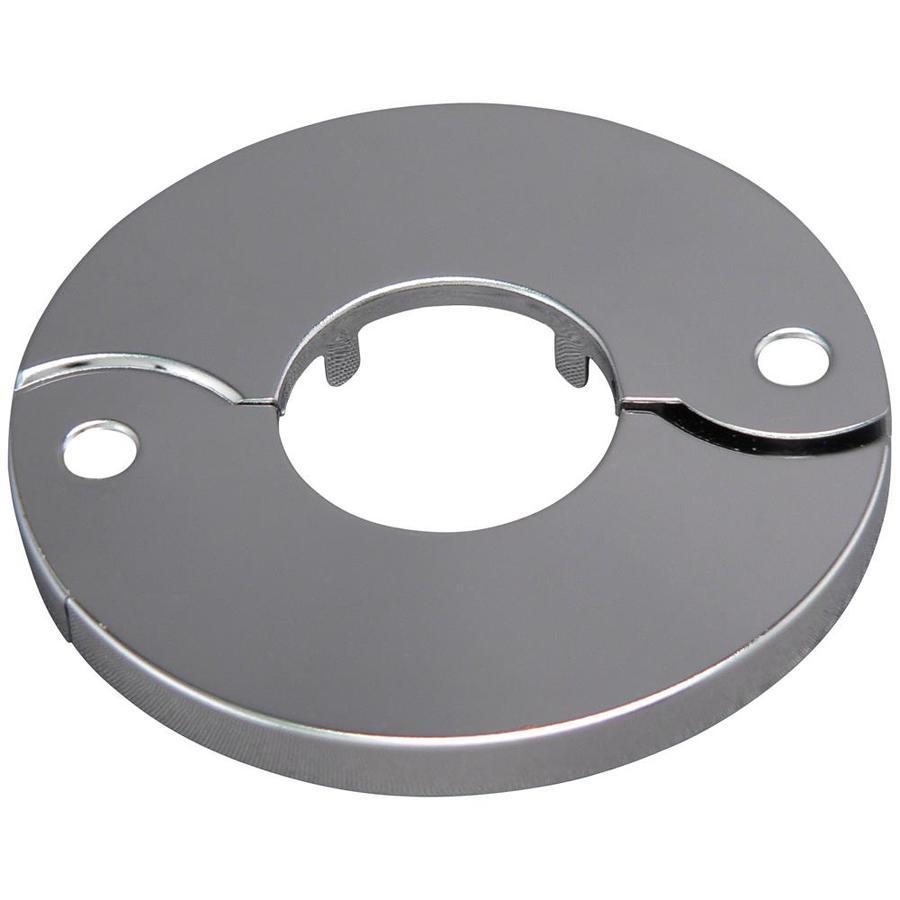 Plumb Pak 1-3/4-in Chrome Split Shallow Floor and Ceiling Plate