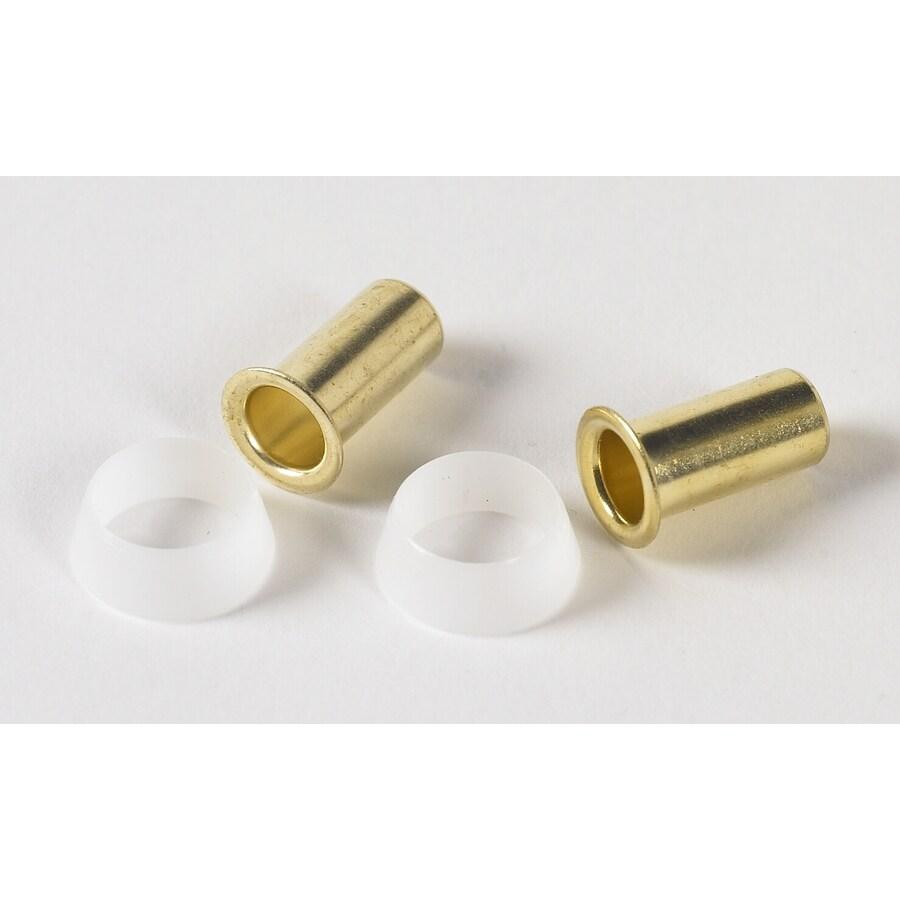Plumb Pak 2-Pack .375 Sleeve Brass Pipe Fittings