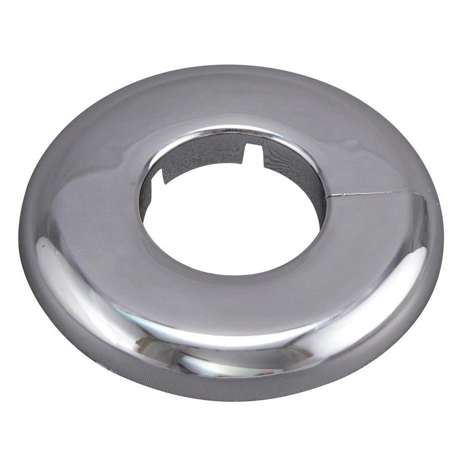 Plumb Pak 2-in Chrome Shallow Floor and Ceiling Plate