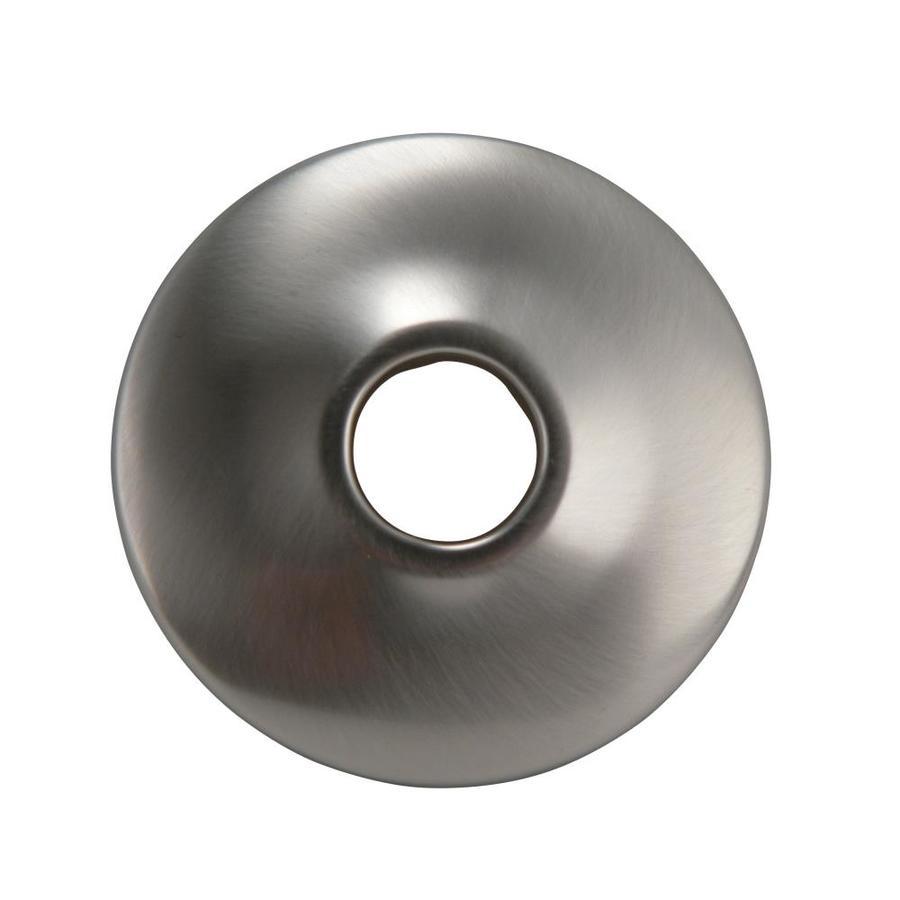 Plumb Pak 1-1/2-in Brushed Nickel Shallow Flange