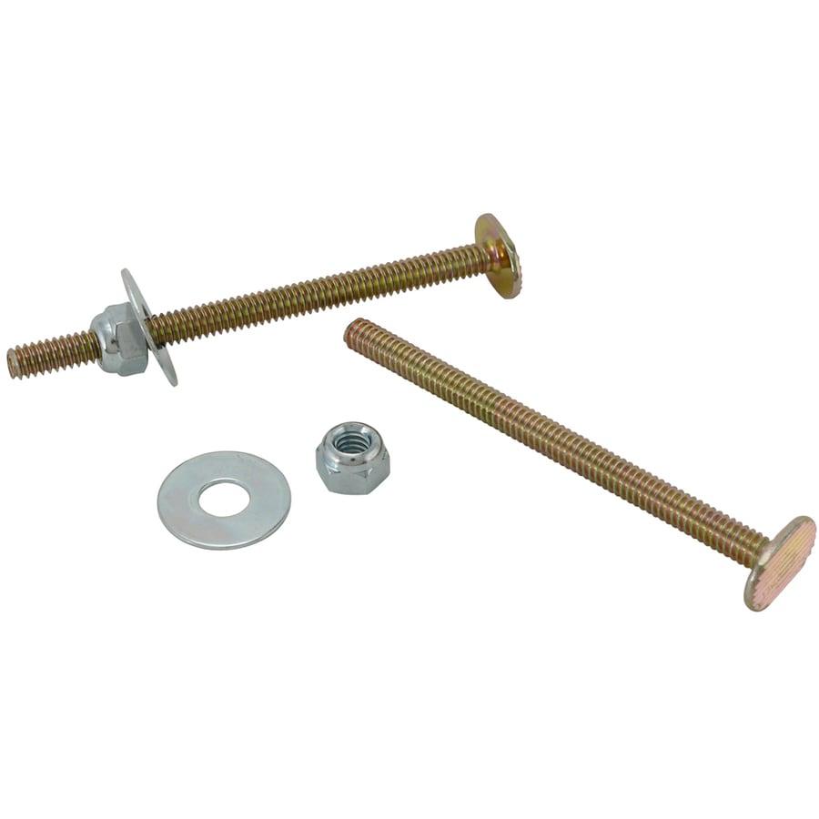 Plumb Pak 3-1/2-in L Polished Brass Floor Bolts