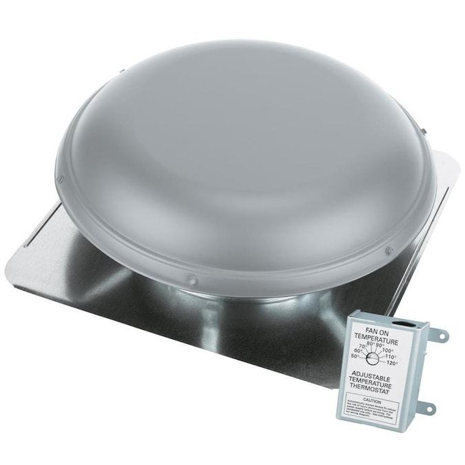 Air Vent Inc Power Roof Mount Fan In The Power Roof Vents Department At Lowes Com