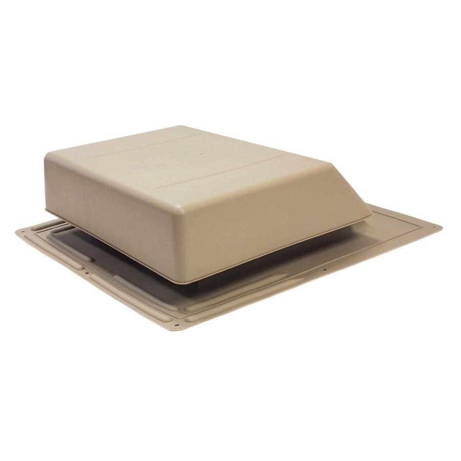 AIR VENT INC. Weatherwood Plastic Slant-Back Roof Louver